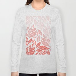 LIVING CORAL LEAVES 3 Long Sleeve T-shirt