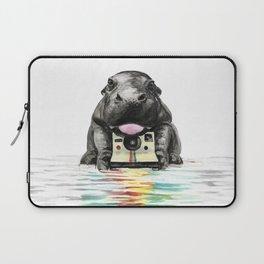 Baby Hippo Laptop Sleeve