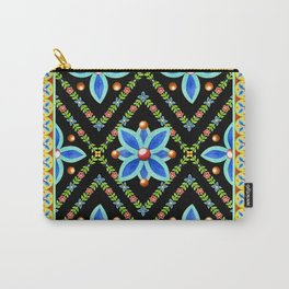 Elizabethan Folkloric Square Carry-All Pouch