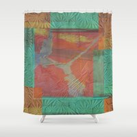 finland Shower Curtains featuring Sampo from Finland by Red Gauntlet