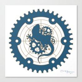 Odd Customs Logo  Canvas Print
