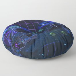 Fungal Fantasy Floor Pillow