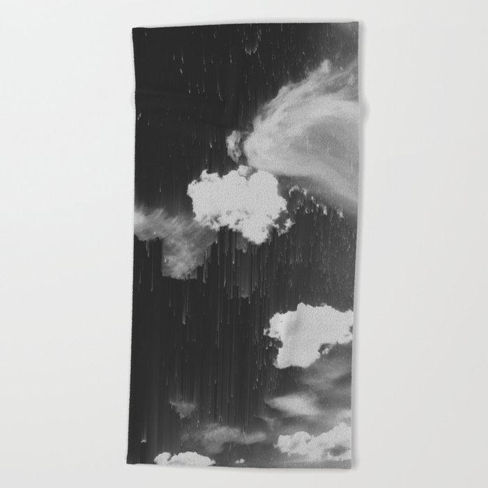 Cloudy Daze Beach Towel