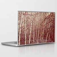 birch Laptop & iPad Skins featuring Birch by Indigo Rayz