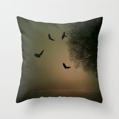 Morgenstimmung  Throw Pillow