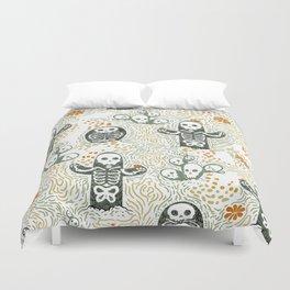 Skeleton Cacti Duvet Cover