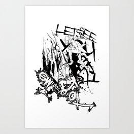 A loophole in Limbo Art Print