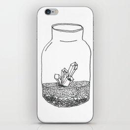 crystal terrarium iPhone Skin