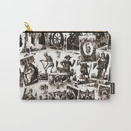 Tarot cards pattern Carry-All Pouch