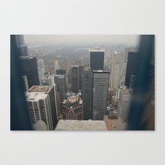 Skyline in Perspective Canvas Print