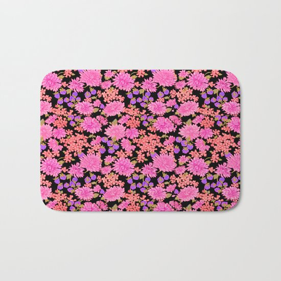 forget me not II Bath Mat