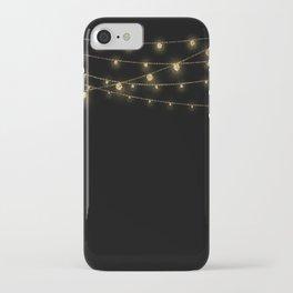 Gold rich Glitter Chain- Treasure Sparkle iPhone Case