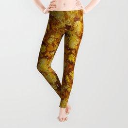Golden Shatter Leggings