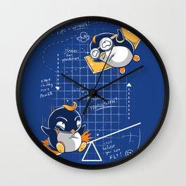 Perfect Plan Wall Clock