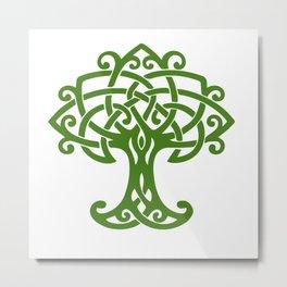 Tree Of Life Celtic Art Knot Metal Print