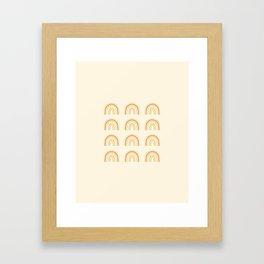 Rainbows for June Framed Art Print