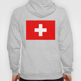 Flag of Switzerland - Authentic (High Quality Image) Hoody