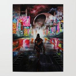 Blade Runner X Tron Poster