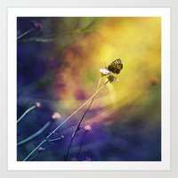 fairy Art Prints featuring Fairy by Ark.Us.