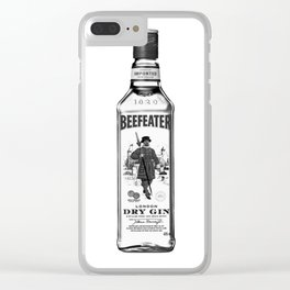 Beefeater 1 Clear iPhone Case