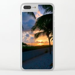 Color my night Clear iPhone Case