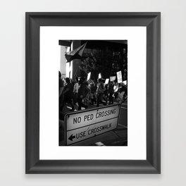 The People Framed Art Print