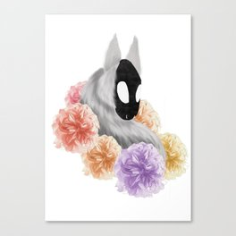Flowered Demon Canvas Print
