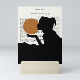 Music in the sun Mini Art Print