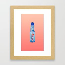 Ramune Framed Art Print