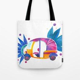 Groovy Rickshaw Tote Bag