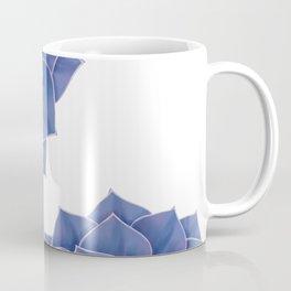 Elegant Big Purple Echeveria Design Coffee Mug