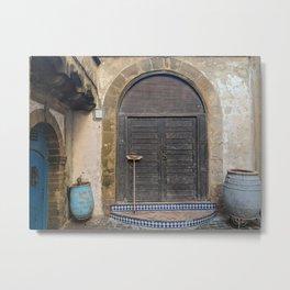 Door to Arabia Metal Print