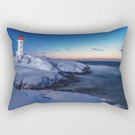 Winter Twilight Rectangular Pillow