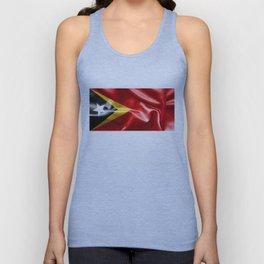 East Timor Flag Unisex Tank Top