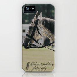 Fleabitten Grey Polo Pony iPhone Case