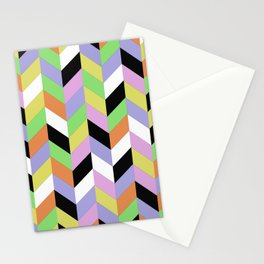 Stacked Colour Stationery Cards