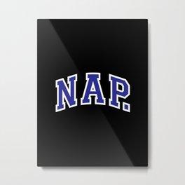 Nap Metal Print