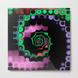 TGS Fractal Abstract Metal Print