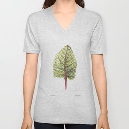 Swiss Chard Unisex V-Neck