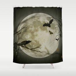 Halloween Scene Shower Curtain