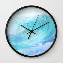 Ombre Wave Wall Clock
