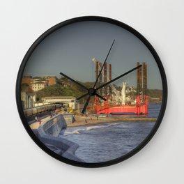 Dawlish Wavewalker Express Wall Clock