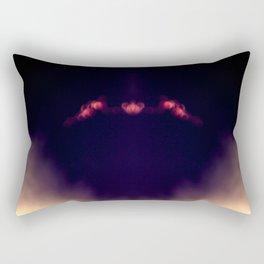 Blood Moon Shadow Rectangular Pillow