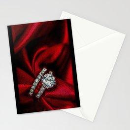 Diamond & red silk - 206 Stationery Cards