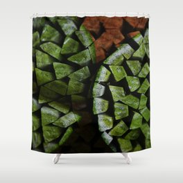 The Life of The Green Lime Shower Curtain