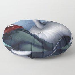 Stranger on a Path Floor Pillow