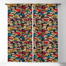 The Book Collector Blackout Curtain