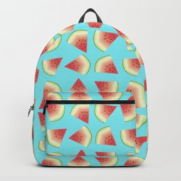 Watermelon Fruit Slices Food Pattern Backpack