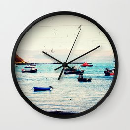 Float On - Original Photographic Work Wall Clock