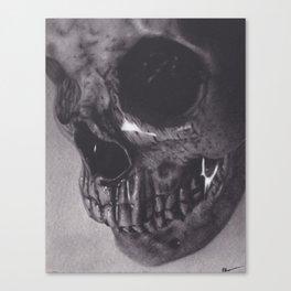 Waterlogged Skull Canvas Print